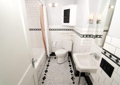 Infinite Line of Tetris with Full Bathroom Designing