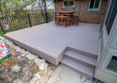 Cream Colored Deck Modeling