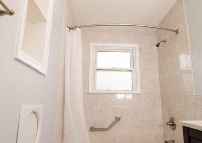 White Bathroom Modeling